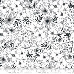 Illustrations MediumFloral Wht