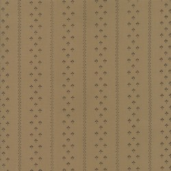 Flower Garden Gatherings Stripe Tan