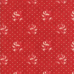 Farmhouse Reds Floral Red