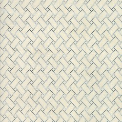 Crystal Lake Lattice Ivory Blu