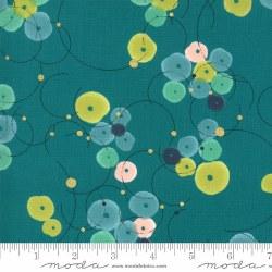 Dance in Paris Bubbles Teal