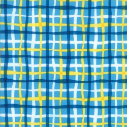 Later Alligator Plaid Blue Sky