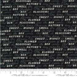 Bee Grateful Words Ebony