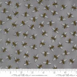 Bee Grateful Bees Pebble Grey