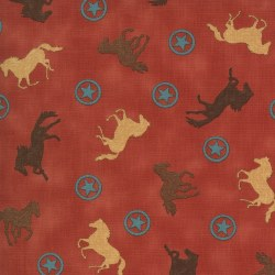 Home on the Range Horses Red