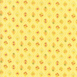 Home Sweet Home Motif Yellow
