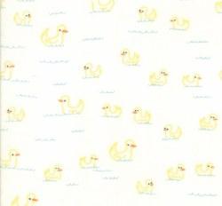 Soft Sweet Flannel Ducks Cream