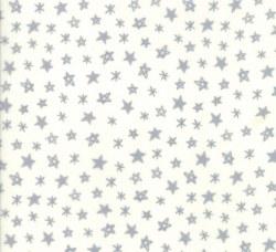 Soft Sweet Flannel Star Cream