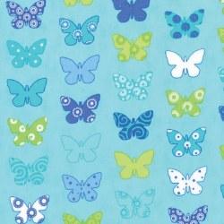 Brighten Up Butterflies Aqua