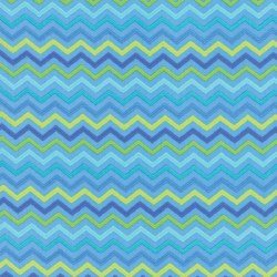 Brighten Up Chevron Blue