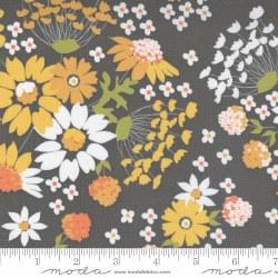 Cozy Up Lrg Floral Grey Skies