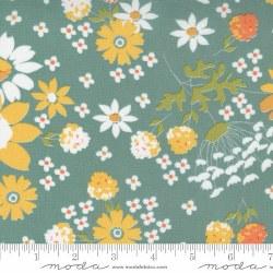 Cozy Up Lg Floral Blue Skies