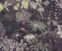 Stiletto Main Floral Ebony