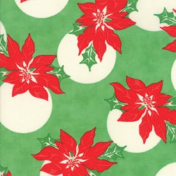 Swell Christmas Poinsettia Grn
