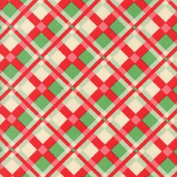 Swell Christmas Plaid Red/Grn