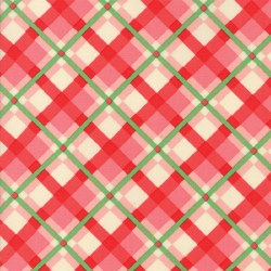 Swell Christmas Plaid Pink/Red