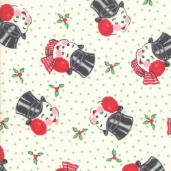Sweet Christmas Snowman Marzipan