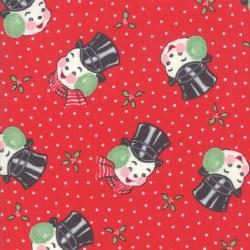 Sweet Christmas Snowman Peppermint