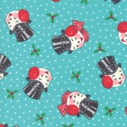 Sweet Christmas Snowman Coolmint