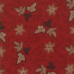 Harriets Handwork Leaf Red