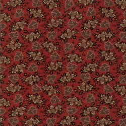 Harriets Handwork Floral Red