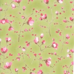 Sakura Branches Leaf