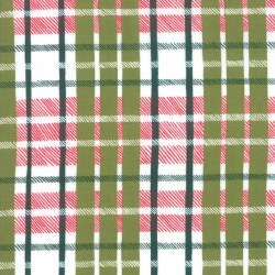 To Be Jolly Plaid Mistletoe