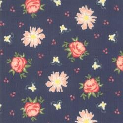 Harpers Garden Floral Navy