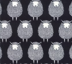 Farm Charm Sheep Kettle Black