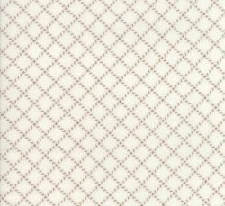 Farmhouse Flannel II Diagonal Plaid Cream Toast