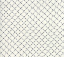 Farmhouse Flannel II Diagonal Plaid Cream Graphite