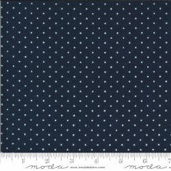 American Gatherings Star Navy Cream