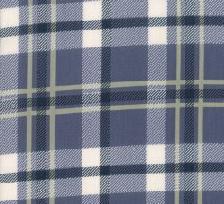 Harvest Road Plaid Indigo