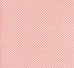 Vintage Holiday Dots Pink