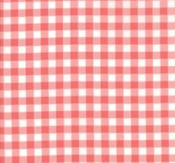 Vintage Holiday Gingham Pink