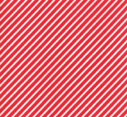 Vintage Holiday Stripe Red