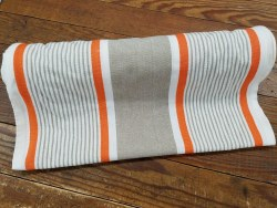 "Toweling 16"" Mango Stripe"