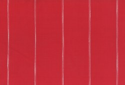 "Toweling 16"" Picnic Point Red Stitched Stripe"