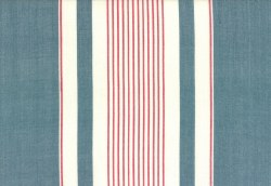 "Toweling 16"" Picnic Point Red White Blue"