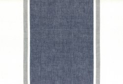 "Toweling 16"" Picnic Point Navy Focal Stripe"