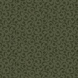 Prairie Basics Flr Swirl Green