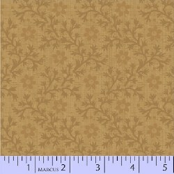 Pieceful Pines Floral Vine Tan Stash Builder