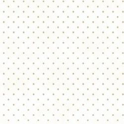Beautiful Basics Dot White/Tan