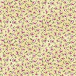 Roam Sweet Home Flowers Yellow Skinny Bolt