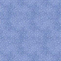 Roly Poly Snowmen Dots Blue