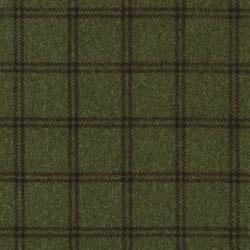 "Woolies Flannel Green 1"" Plaid"