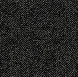 Woolies Flannel Herringbone Black