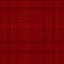 Woolies Flannel Plaid Bright Red