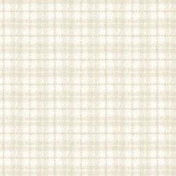 Woolies Flannel Plaid Cream