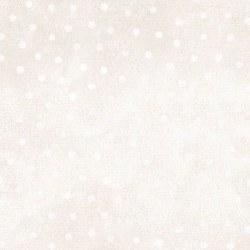 Woolies Flannel Dots Ecru